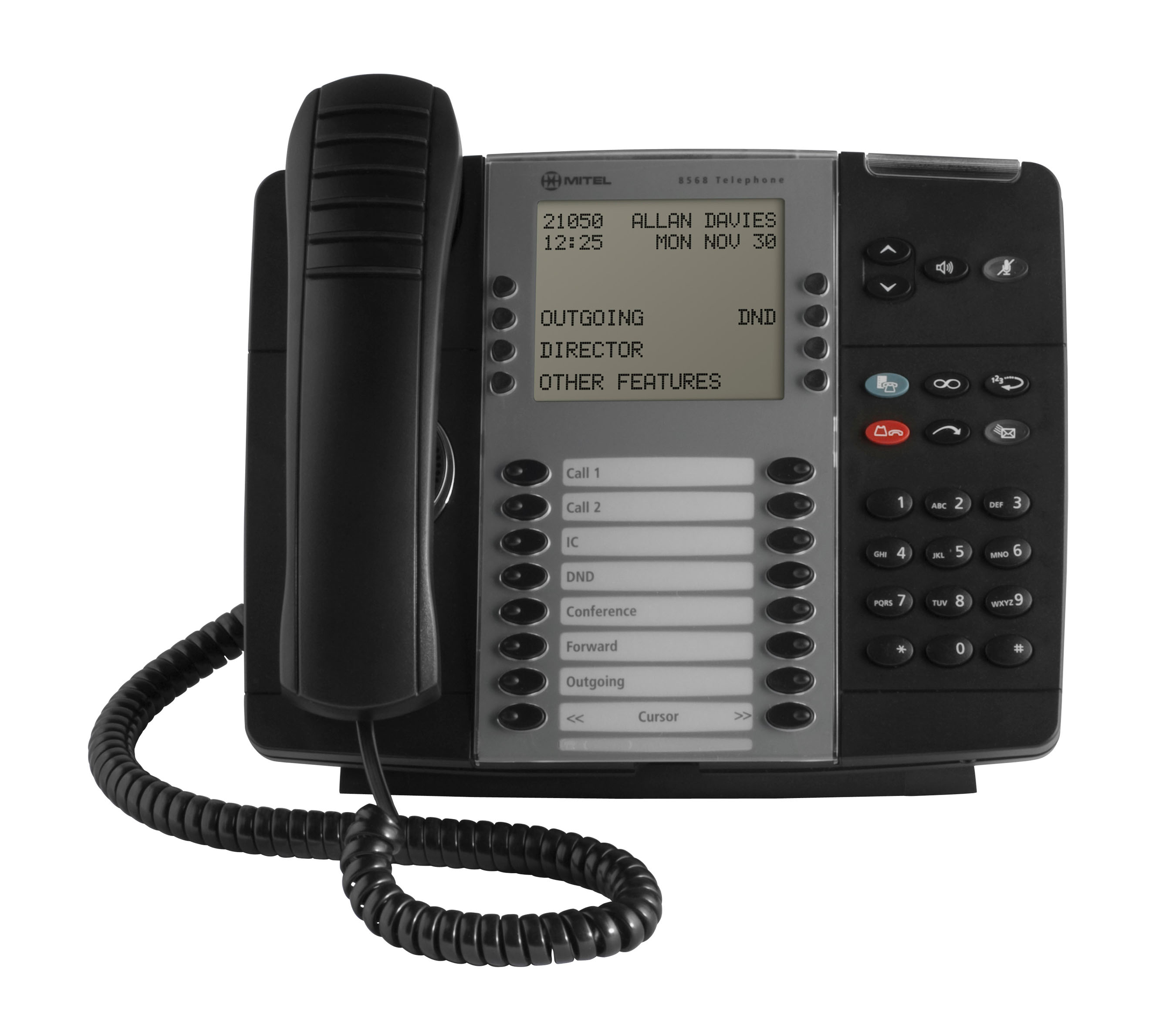 Mitel Model 8568 Digital Power User Telephone