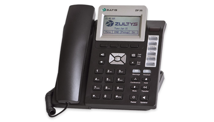 Zultys 35i SIP Telephone